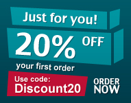 Discount on first order